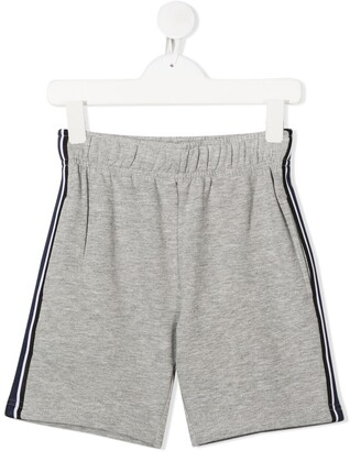 Molo Kids Axon side stripe panel shorts