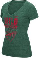 Reebok Women's Minnesota Wild Block Rhinestone T-Shirt