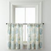 Asstd National Brand Coraline Rod-Pocket Window Tiers