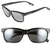 Maui Jim Women's 'Eh Brah' 55Mm Polarized Sunglasses - Gloss Black/ Neutral Grey