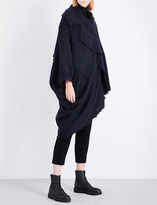 Y's Ys Asymmetric knitted cape