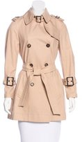Salvatore Ferragamo Belted Trench Coat