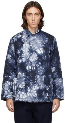 Blue Blue Japan Blue and White Kagozome Jacket