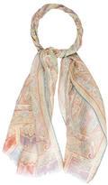 Etro Silk Printed Scarf