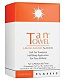 TanTowel Tan Towel Self Tan Towelette Classic 10 Count