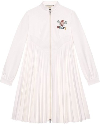 Gucci Tennis embroidered dress