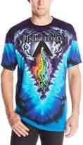 Liquid Blue Men's Pink Floyd Prism River T-Shirt, Multi