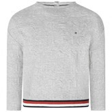 Tommy Hilfiger Tommy HilfigerGirls Grey Logo Sweater