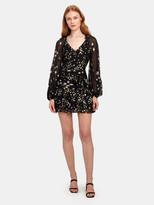 LoveShackFancy Rina Tiered Ruffle Mini Dress