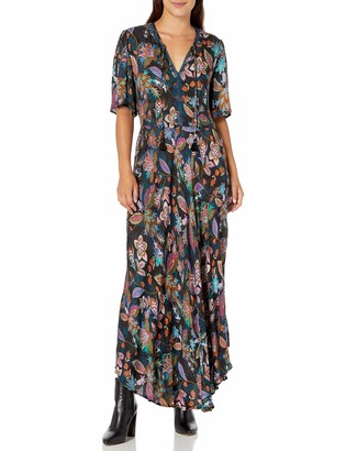 3J Workshop by Johnny was Women's Floral Printed Maxi Dress