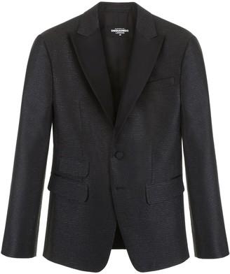 DSQUARED2 Lame Tuxedo Jacket