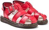 Dr. Martens Red Moby Infants Fisherman Sandals