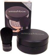 Smashbox Halo Hydrating Perfecting Powder and Free Brush Set, Light, 0.67 oz