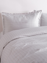 Melange Home Shirt Stripe Duvet Set