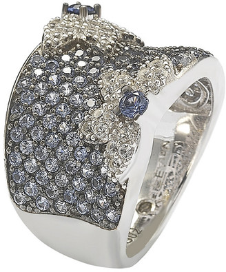 LeVian Suzy Diamonds Suzy Silver 1.62 Ct. Tw. Sapphire Ring