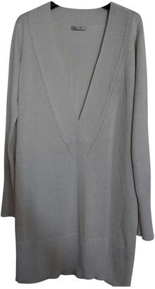 Bel Air Silver Silk Knitwear for Women