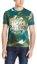 Buffalo David Bitton Men's Nistok Short Sleeve Crew Neck Fashion Tee Shirt