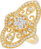 LeVian Le Vian® Vanilla® Deco EstateTM Vintage Diamond (9/10 ct. t.w.) ring in 14k Gold