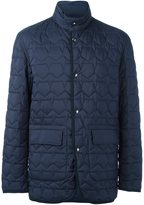 Z Zegna pentagon quilted jacket