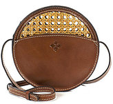 Patricia Nash Vintage Wicker Collection Scafati Round Cross-Body Bag