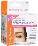 Sally Hansen Eyebrow, Face & Lip Wax, 1.25 oz. wax, (Pack of 4)