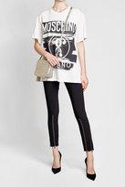 Moschino Oversized Printed Cotton T-Shirt