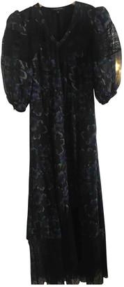 Jill Stuart Black Silk Dress for Women