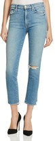 Mother High Rise Rascal Ankle Jeans in Love Gun