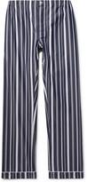 Sleepy Jones - Marcel Striped Cotton Pyjama Trousers