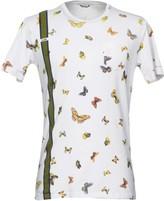 Grey Daniele Alessandrini T-shirts - Item 12093174