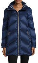Burberry Eastwick Chevron Puffer Jacket