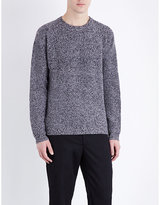 Ps By Paul Smith Ribbed Merino Wool Jumper