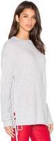 RtA Arianne Lace Side Sweatshirt