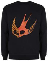 McQ by Alexander McQueen Large Swallow Crew Neck Jumper