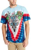 Liquid Blue Men's Grateful Dead-Moto Sam T-Shirt