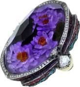 Sevan Biçakci Waterlily Amethyst Ring