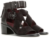 Rag & Bone Madrid Suede And Leather Sandals