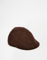 Goorin Raven Tooth Ivy Flat Cap - Brown
