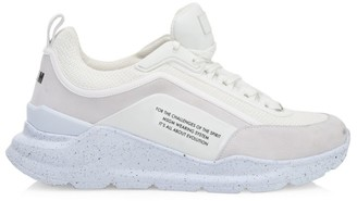 MSGM Speckled Sole Trainer Sneakers