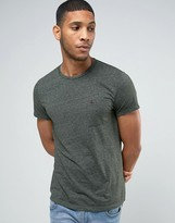 Jack Wills T-Shirt With Pocket In Slim Fit In Pine