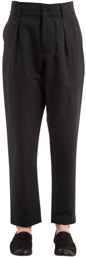 Damir Doma 18.5cm Crispy Cotton Blend Pants