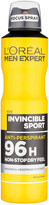 Loréal Paris Men Expert L'Oreal Men Expert Invincible Sport 96H Anti-Perspirant Deodorant 250ml