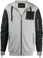 John Richmond Hamilton hooded jacket