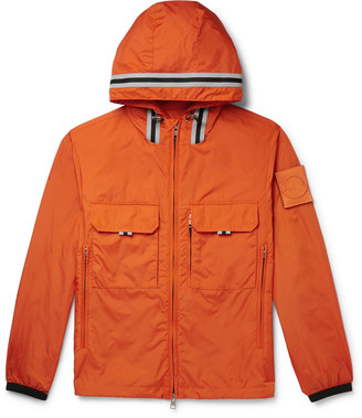 Moncler Abbe Shell Hooded Jacket - Men - Orange