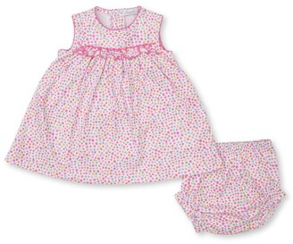 Kissy Kissy Cotton Floral Print Dress (0-24 Months)