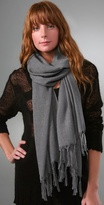Hand Knotted Fringe Scarf
