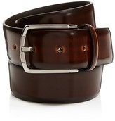 Canali Burnished Cordovan Leather Belt