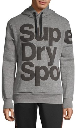 Superdry Graphic Cotton Blend Hoodie