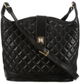 Judith Leiber Quilted Leather Bag