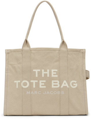 Marc Jacobs Beige The Traveler Tote